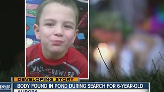 Body found in search for missing 6-year-old David Puckett in Aurora