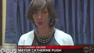 Mayor Pugh wants consent decree with DOJ complete before Trump takes office - Video