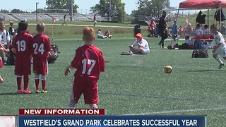 Westfield's Grand Park celebrates successful 2016 season - Video
