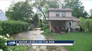 Burlington residents scared they may lose their home due to floods - Video