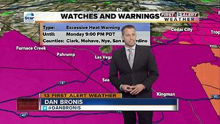 Nevada heat related deaths - Video