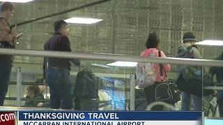 One million travelers expected to pass through McCarran over Thanksgiving weekend - Video