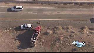Deadly bus crash causes restrictions on westbound I-10 near Quartzsite - Video