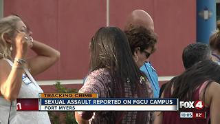 Police investigating assault on FGCU campus - Video