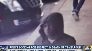 Police search for suspect in death of 73-year-old man on Pulaski Highway - Video