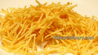 Straw Potato Fries Recipe - Video
