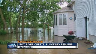 Residents clean up after flash floods wreak havoc on Burlington - Video