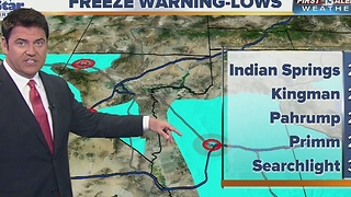 13 First Alert Forecast for Nov. 17 evening