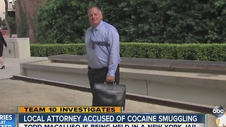 San Diego attorney accused in international cocaine smuggling plan - Video