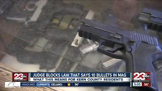 Judge blocks CA gun law; What happens now? - Video