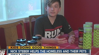 Kids Doing Good Things: Nick Steber