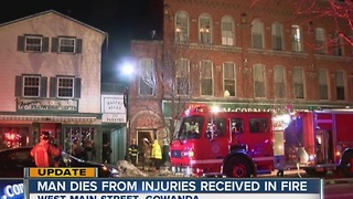 Gowanda fire victim dies - Video