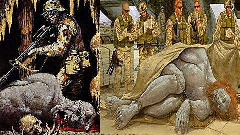 Secret Military Cover Up:Was There A Giant Of Kandahar Killed?