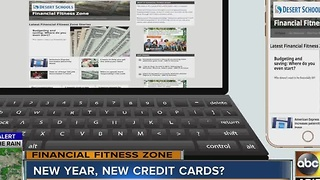 New year, new credit cards? - Video