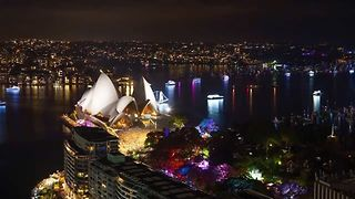 Timelapse Captures Sydney Harbour's Spectacular New Year's Eve Show