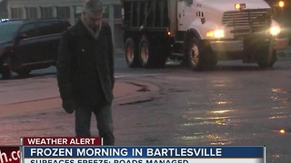 Bartlesville staying ahead with preparation for winter weather - Video