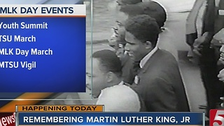 Events Set For Martin Luther King, Jr. Day - Video