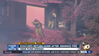 Jennings Fire 60% contained, holding at 400 acres