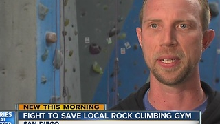 Rock climbing gym displaced by brewery expansion - Video