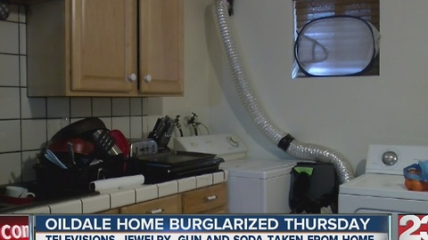 Oildale home burglarized Thursday
