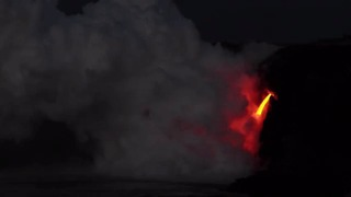 Kamokuna Bench Collapse at Hawaii Volcanoes National Park - Video
