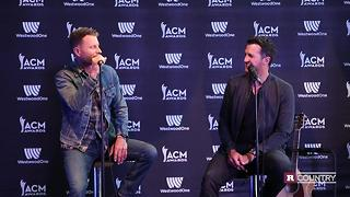 Dierks Bentley and Luke Bryan talk about working together | Rare Country - Video