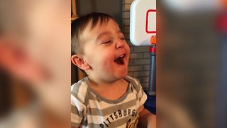 Cute Kid Meets Sour Patch Kid - Video