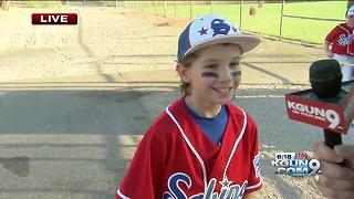 Sabino Canyon 8-10 year olds Little League win - Video