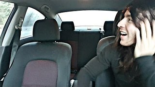 Getting Inside a Girl's Car Is an Obstacle-Filled Task - Video