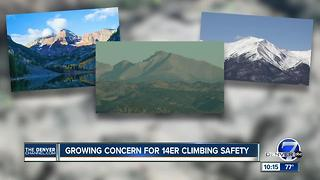 Movement to promote 14'er climbing safety grows as 4th person dies on Colorado peak - Video