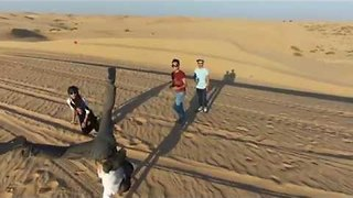 Drone Captures Stunning Footage of Desert in UAE