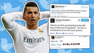 50 Funniest Footballers' Tweets - Video