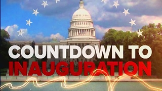 The countdown to Donald Trump's Inauguration - Video