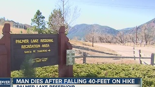 Hiker falls to his death near Palmer Lake - Video