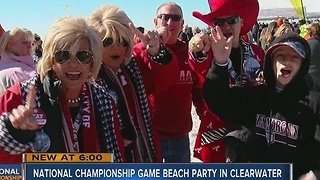 Beach bash on Clearwater Beach - Video