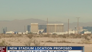 Las Vegas Stadium - new location proposed near Las Vegas Blvd and Blue Diamond - Video