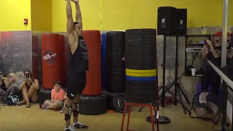 Man Sets Guinness World Record For Highest Standing Jump