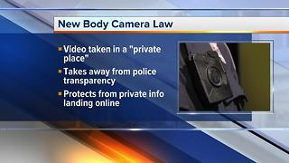 Police body camera law signed by Michigan governor - Video