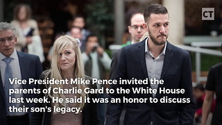 Mike Pence Invites Charlie Gard's Parents to WH - Video