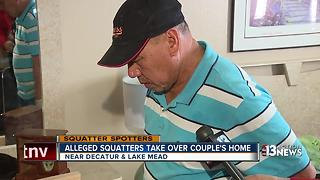 Alleged squatters take over when family is on trip - Video