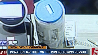Donation Jar Stolen From Local Restaurant - Video