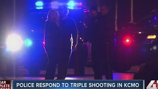 Police investigate two triple shootings in KCMO