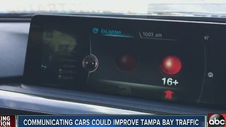 Communicating cars could make Tampa Bay Area's commutes faster, safer - Video