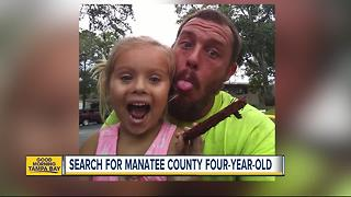 Child Protection Investigators search for missing 4-year-old Manatee County girl - Video