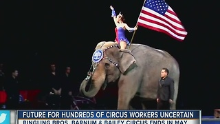 Future for hundreds of circus workers uncertain - Video