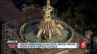 Cupola To Be Removed From Capitol For Restoration