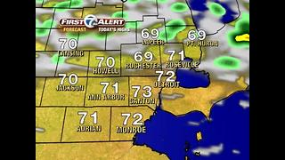 Cooler air, rain returns this afternoon