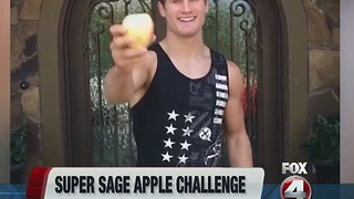 Super sage apple challenge - Video