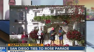 San Diego ties to Rose Parade - Video