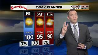 13 First Alert Weather for June 7 2017 - Video